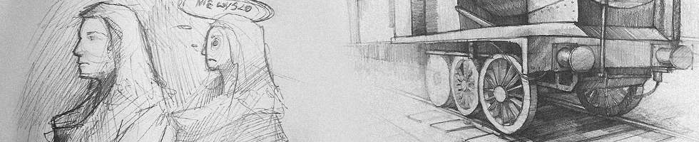 Dlaczego warto rysować, plansza szkice