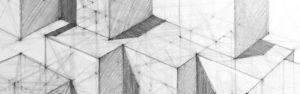 Egzamin na architekturę, perspektywa, walor, kompozycja