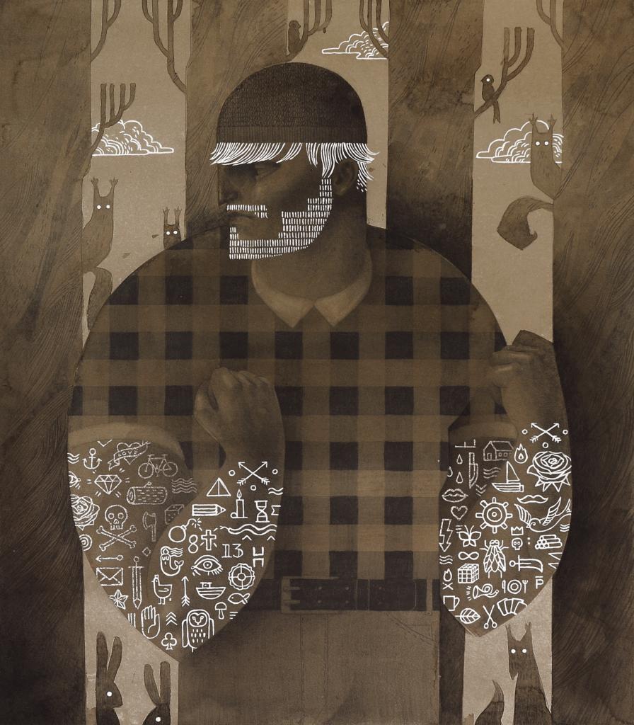Ilustracja Patrycja Podkościelny - drwal
