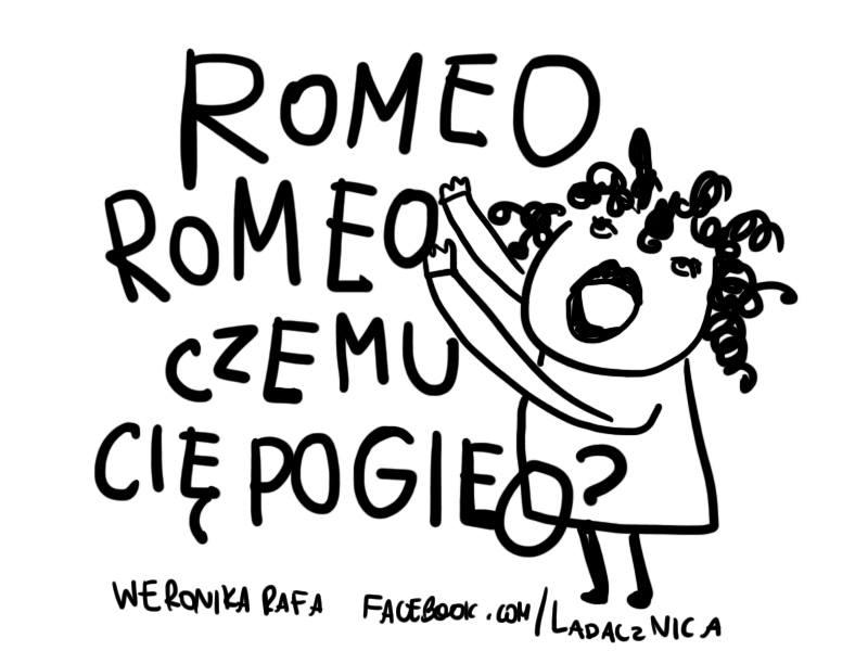 ladacznica śmieszny komiks romeo