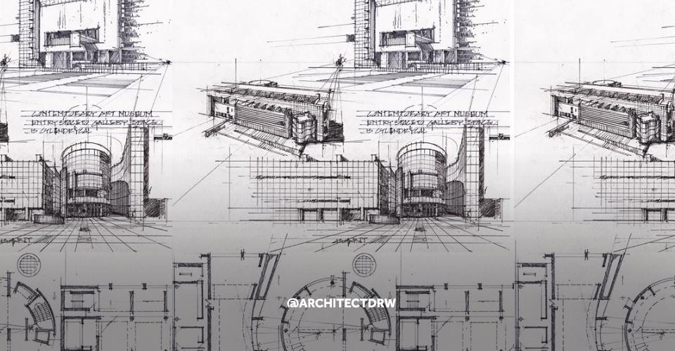 Rysunek architektoniczny instagram
