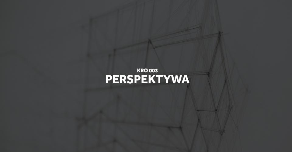 Kurs rysunku - perspektywa
