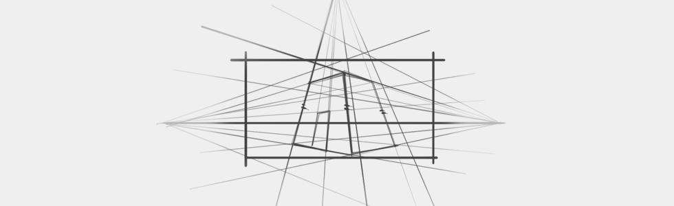 Perspektywa trójzbiegowa kurs rysunku online