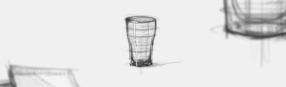Jak narysować szkło.