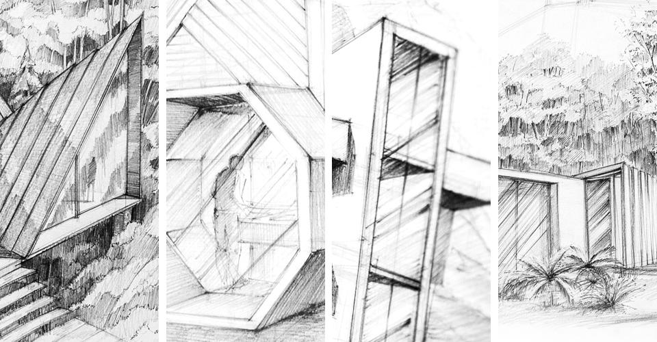 Jak narysować szkło - architektura - krok po kroku