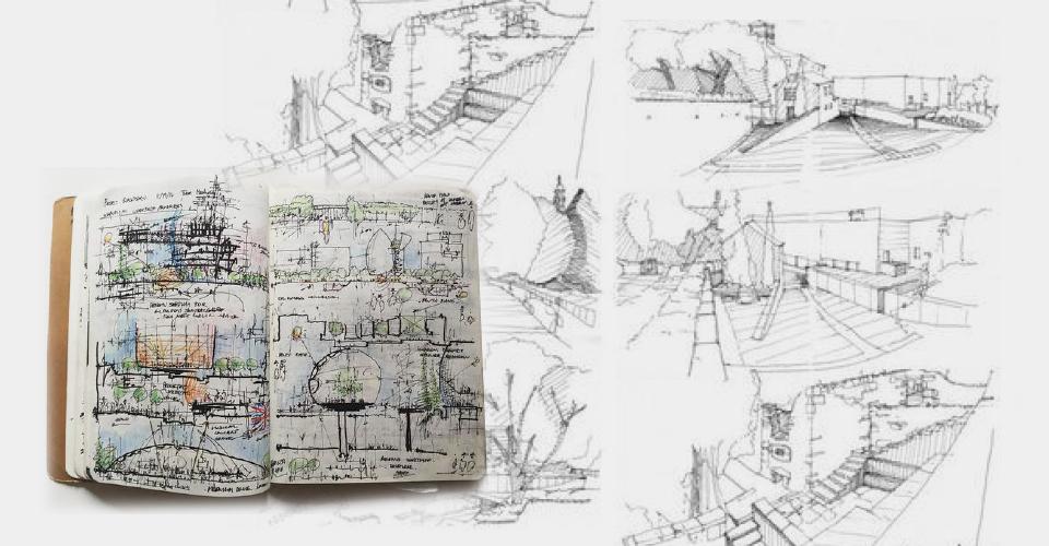 Szkicownik - architektura - przykłady