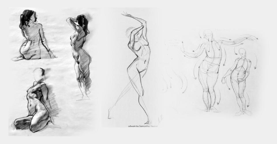 Szkicownik - szybkie szkice postaci