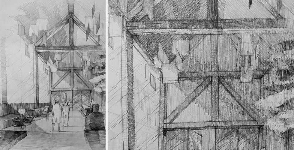 Kurs Rysunku Online Architektura Wnętrz Rysunek Wnętrza