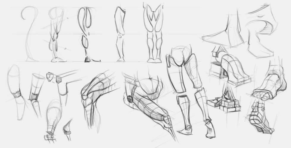 studium postaci szkicownik jak narysować postać ćwiczenia z rysunku