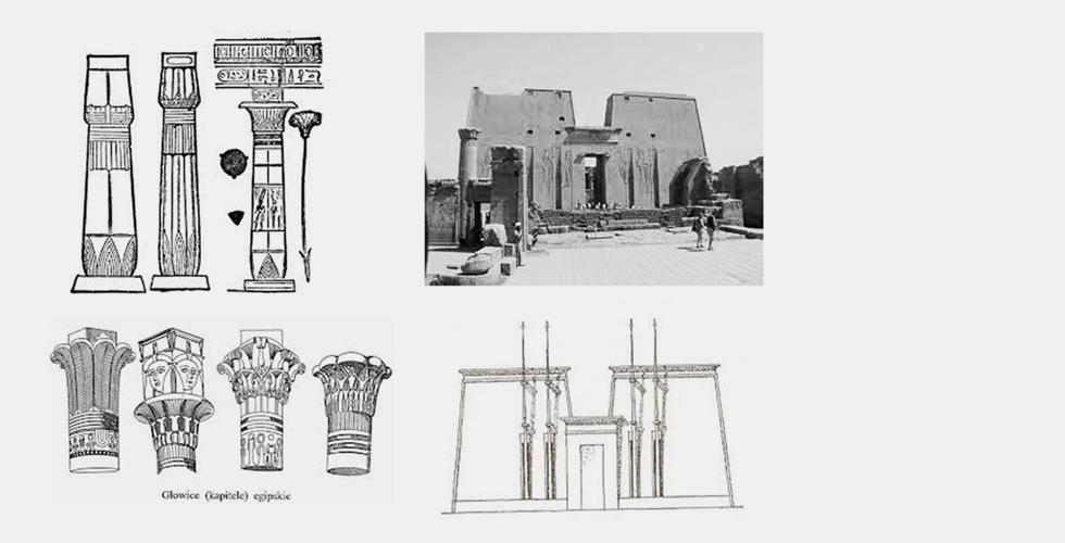 Architektura w Starożytnym Egipcie