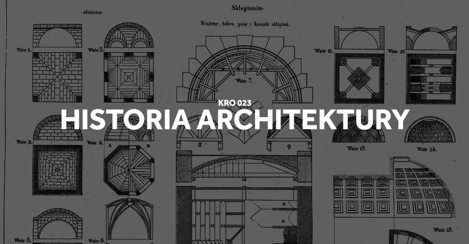 historia architektury w pigułce w skrócie na egzamin