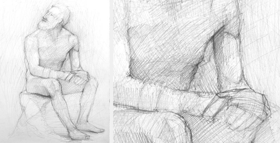 szkic postaci szkic człowieka studium ciała