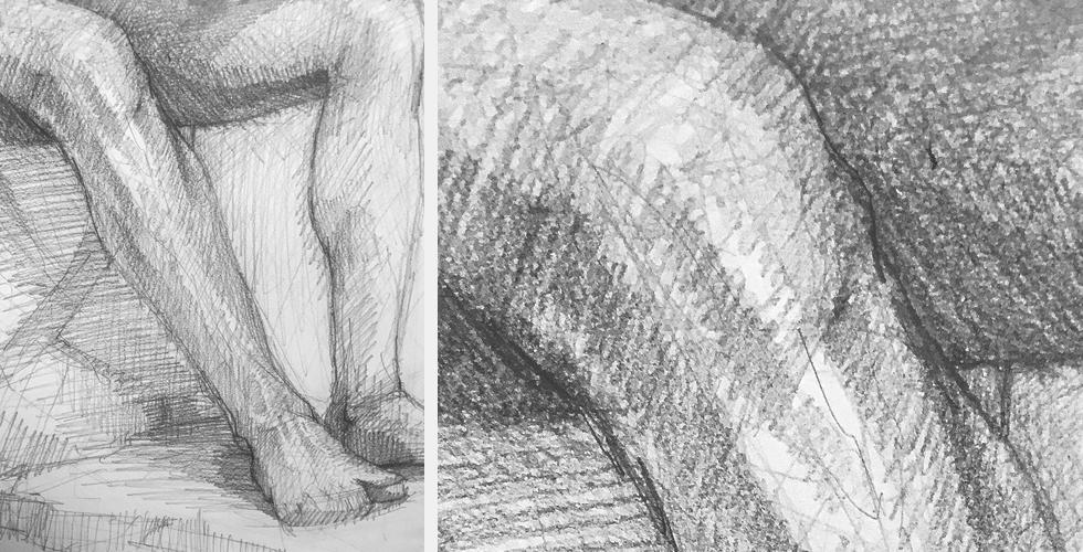 kolano noga szkic postaci szkic człowieka studium ciała