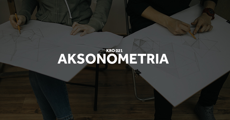 tutorial rzuty aksonometria bryły rysowanie brył