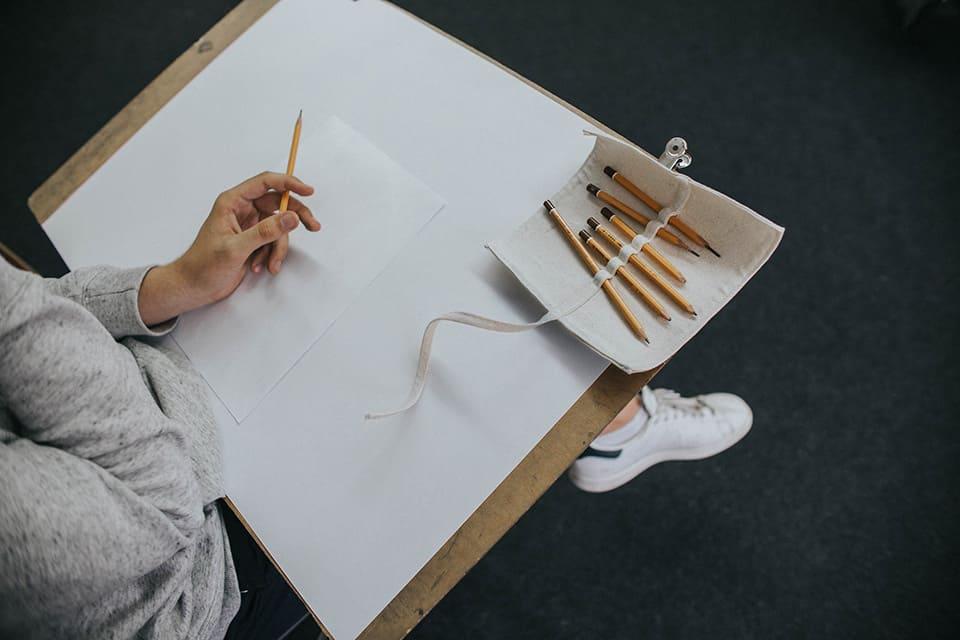 Piórnik na ołówki.
