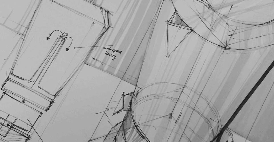 Design sketching - promarker
