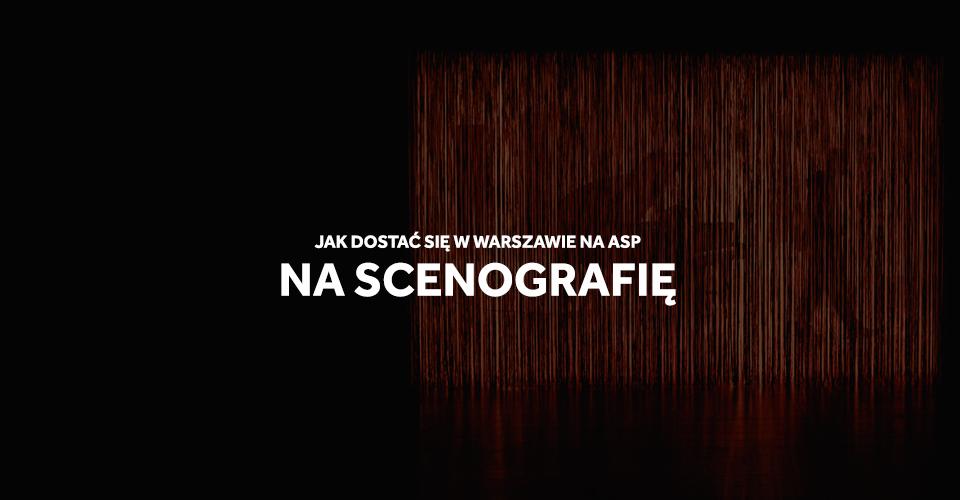 asp Warszawa scenografia studia