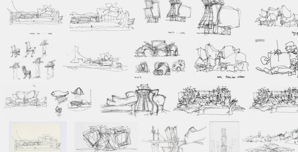 Studium architektury - szkice