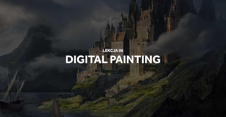 Kurs digital painting: lekcja 6