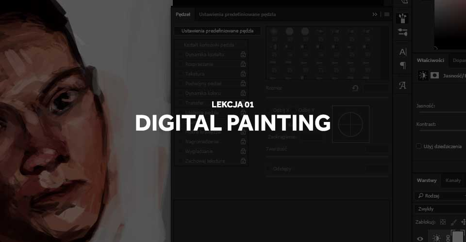 kurs digital painting lekcja 1
