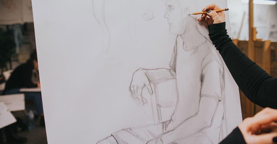 początki nauka rysunku