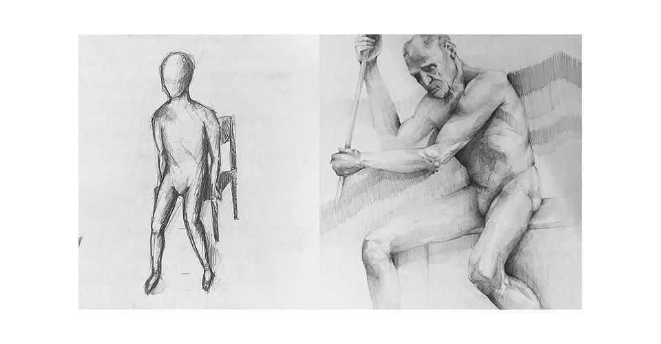 Kurs rysunku: przed i po